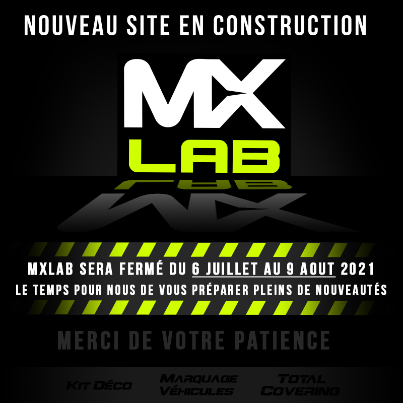 MXlab Kit déco – Marquage véhicules – Total covering – Bodyfence PPF