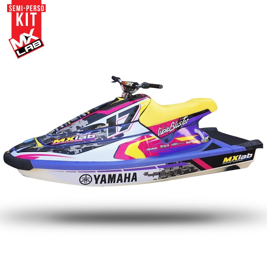 Yamaha Wave Blaster Graphics Kit ✓ Satu Sticker