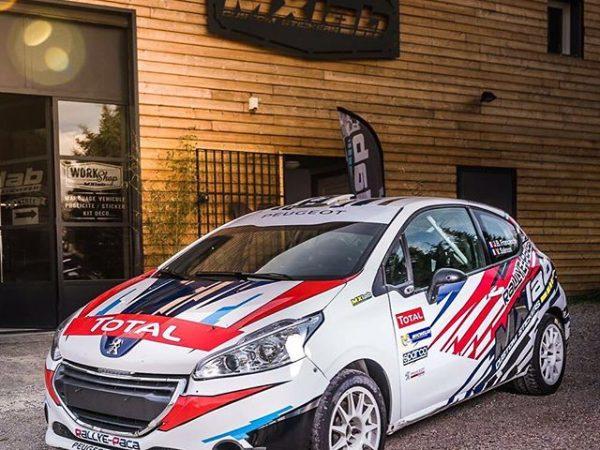 Déco voiture de Rallye